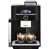 Siemens EQ.9 - Volautomatisch espressoapparaat met touchscreen. Kan gelijktijdig twee kopjes bereiden. iAroma-systeem en…