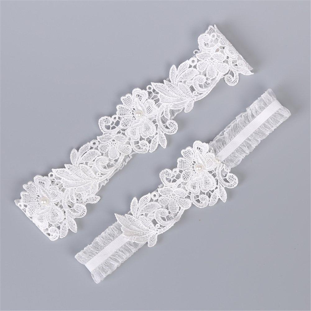 Finaze Wedding Lace Garter for Bridal (MD0007) by Finaze (Image #5)