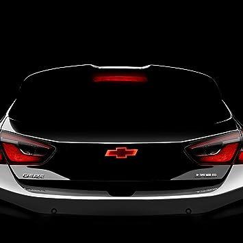 Bearfire 4d LED coche cola lámpara de luz Logo insignia emblema pegatina para Chevrolet Cruze