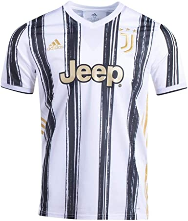 amazon com adidas men s soccer juventus 20 21 home jersey clothing adidas men s soccer juventus 20 21 home jersey