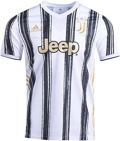 amazon com adidas men s soccer juventus 20 21 home jersey clothing adidas men s soccer juventus 20 21 home jersey