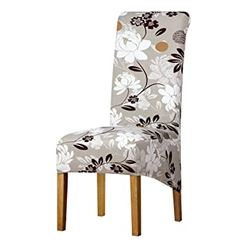 XL Size Long Back Chair Cover Large Europe Style High Back Universal Party Seat