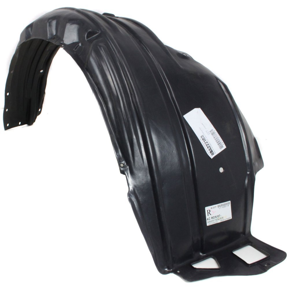 Fender Liner for 2007-2012 Acura Acura RDX Front, Driver and Passenger Side Set of 2 by Evan Fischer (Image #3)