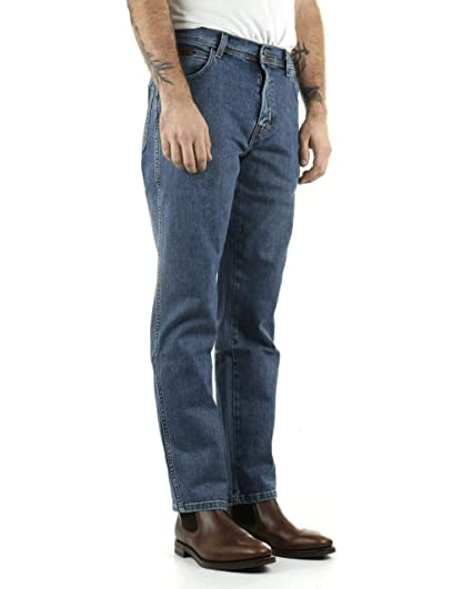 the best attitude 4dae2 1466b Wrangler Texas STRETCH jeans Stonewash mens All Sizes