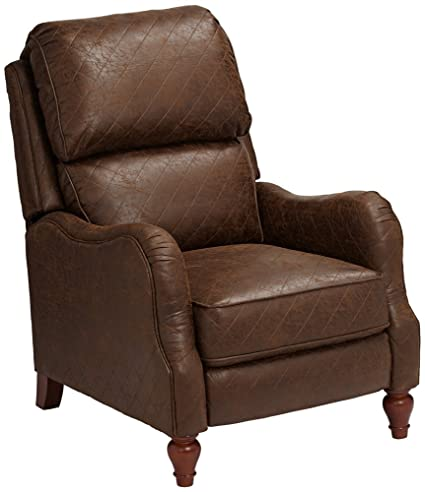 Attractive Palance Tobacco Brown 3 Way Recliner Chair