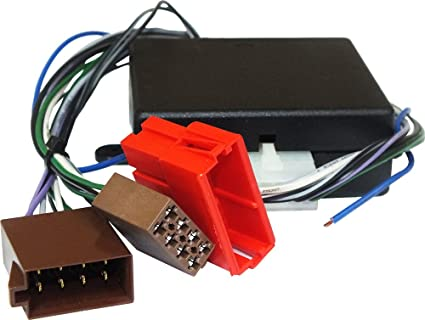 Conector Adaptador para conectar un radio no original sobre caballete con sistema Hi-Fi de serie con amplificador Bose System (sin fibra óptica) ...