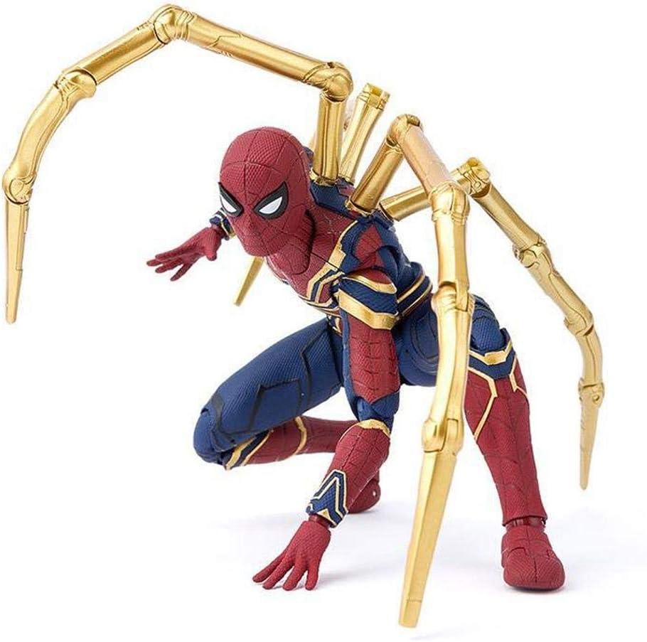Marvel SHF Avengers: Infinity War SHF Iron Spiderman 16CM Modelo De Personaje Animado