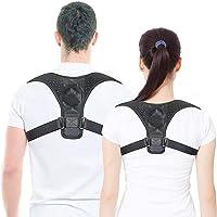 Bestmaple Back Shoulder Posture Correction Adjustable Adult Teens Sports Safety Back Support Corset Spine Support Belt…