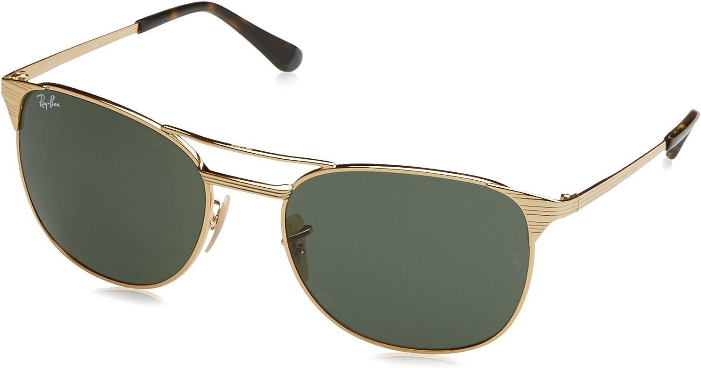 RAY-BAN RB 3429m Gafas de sol, Gold, 58 para Hombre