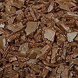 GroundSmart Out Door Garden Fencing Rubber Mulch 0.8 Cubic Feet, Cedar Red