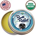 Ruff Relief Balm for Dogs - Moisturize & Protect Nose & Paws (1.75oz) Organic, Natural, & Made in USA, Soothes Dry Cracked Skin, by Pawstruck from Pawstruck.com