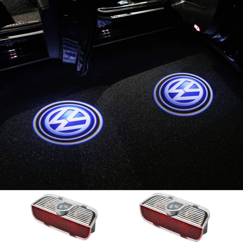Universeller Drahtloser Drahtloser Magnetsensor Schatten Auto T/ürbeleuchtung. Autot/ür Logo Licht 2 Autot/ür Willkommen Licht Auto Logo Lampe