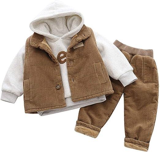 Ropa de bebé de algodón surtidos, infantil chándal Trajes 3pcs ...