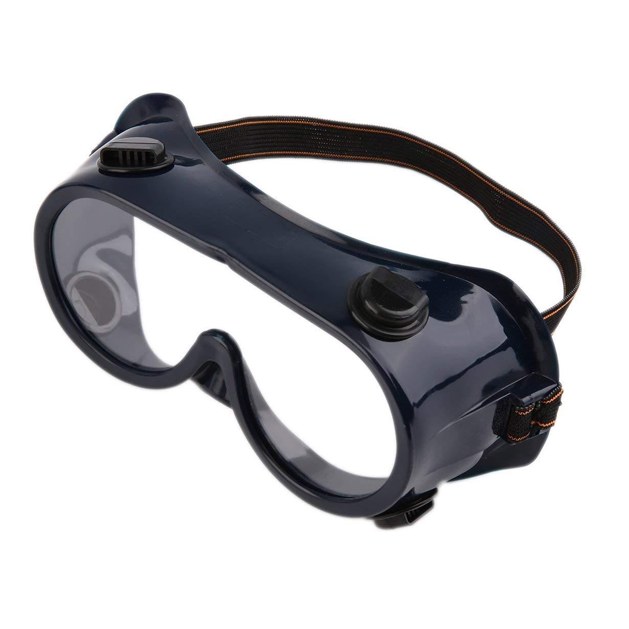 Nouveau Protection Filtre Double Gaz Masque Chimique Gaz Anti Poussière  Peinture Respirateur Masque Visage avec Lunettes 21e2f1ec3eaf