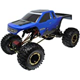 Redcat Racing Everest-10 Electric Rock Crawler with Waterproof Electronics, 2.4Ghz Radio Control (1/10 Scale), Blue…