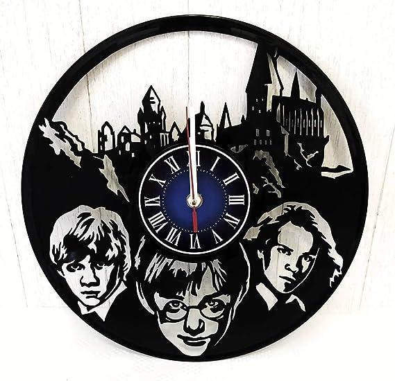 Prime Gifts for You Harry Potter Hogwarts Reloj de Pared ...