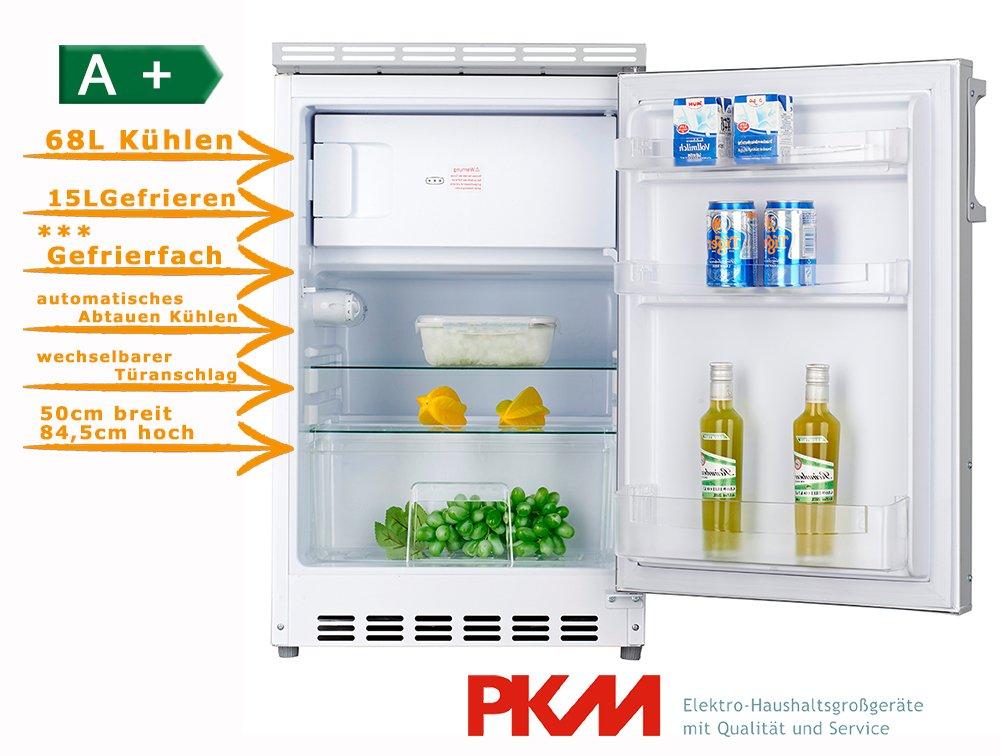 PKM KS82.3 Einbau-Kühl-Gefrier-Kombination/A+ / 168 kWh/Jahr / 68 ...