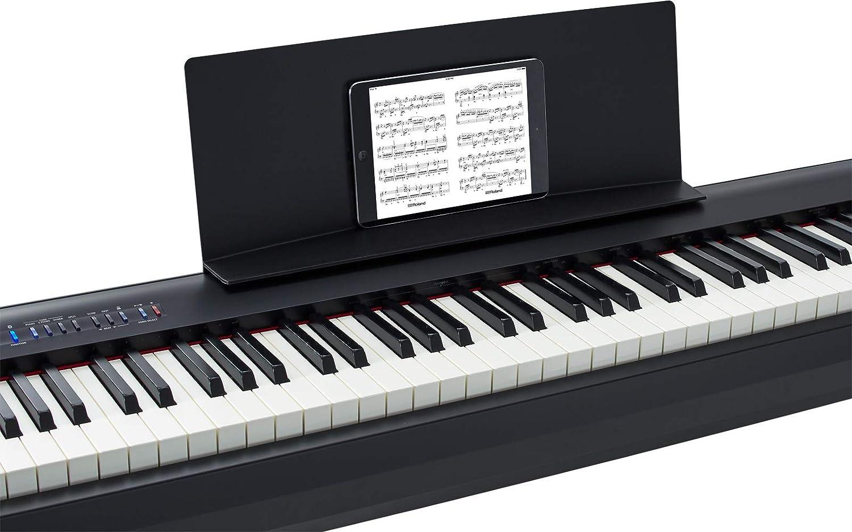 Amazon Com Roland Digital Piano Black Fp 30 Bk Musical Instruments