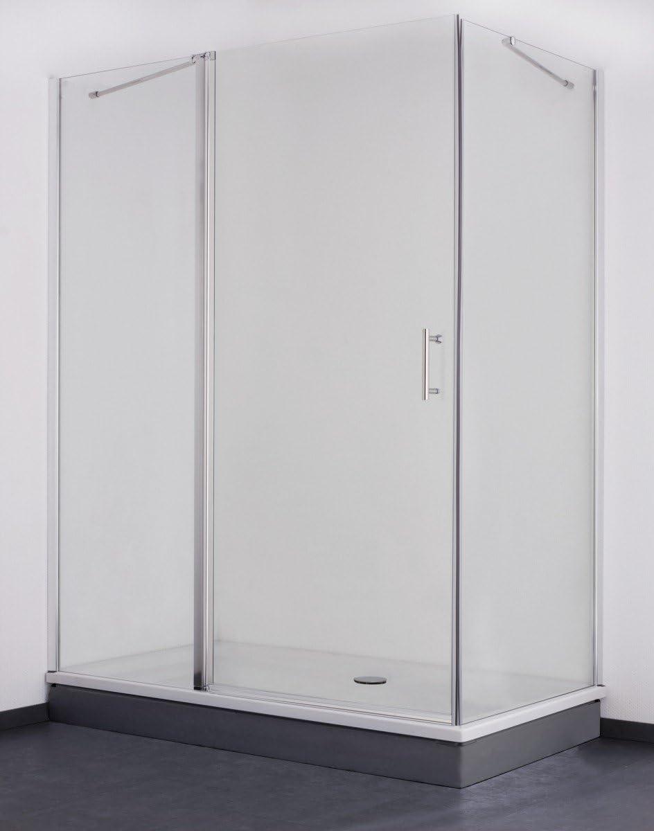 Galdem cabina de ducha de pantalla 170 x 75 cm/6 mm/cabina de ...