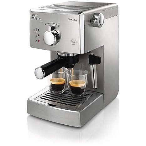 Saeco hd842711 máquina para café Poemia Top SS Potencia 950 W capacidad 1 litro color acero
