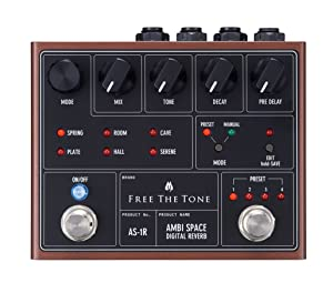 FREE THE TONE AMBI SPACE DIGITAL REVERB