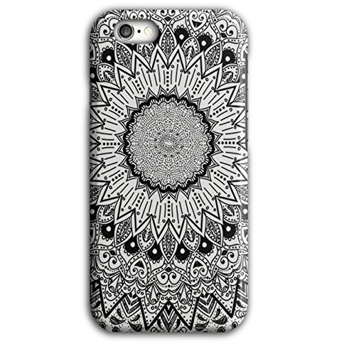 Apparel Indian Style Ceramic Fun NEW Black 3D iPhone 6 Plus / 6S Plus Case | Wellcoda