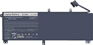 Laptop Battery Compatible with Dell XPS 15 9530 Series; Dell Precision M3800 Series, fits for T0TRM, 245RR, 0H76MY, H76MV, 07D1WJ, 7D1WJ, Y758W