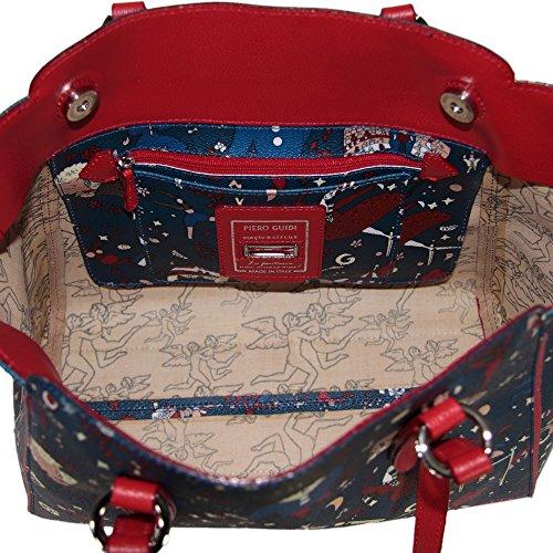 Piero Guidi borsa donna Shopper, Tote bag Magic Circus Plus 210084090.74 blu