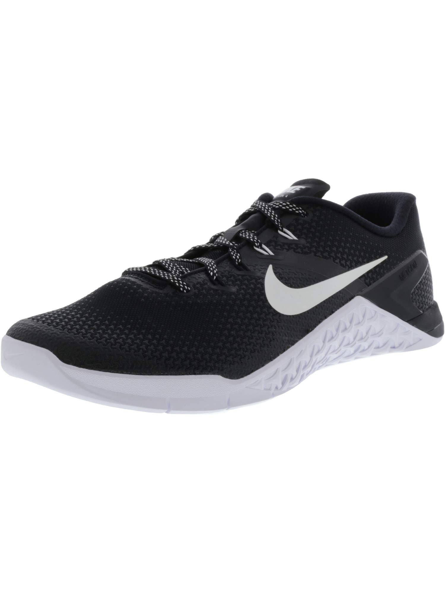 Nike Men's Metcon 4 Black/White Ankle-High Cross Trainer Shoe - 7M by Nike (Image #1)