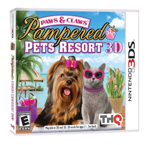 Paws & Claws Pampered Pets Resort - Nintendo 3DS