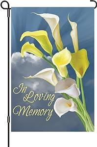 Premier 51108 Garden Premier Soft Flag, In Loving Memory, 12 by 18-Inch