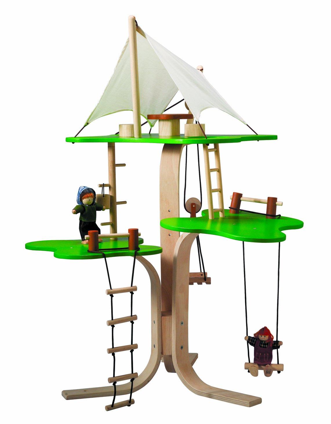 Amazon com  PlanToys Tree House  Toys  amp  Games