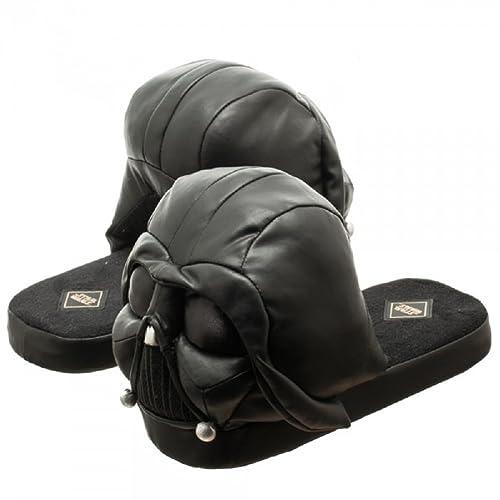 303e96d27b76a6 Star Wars Darth Vader 3D Plush Slippers (M)