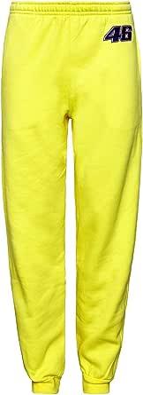 Valentino Rossi - Pantalón deportivo para hombre, color amarillo