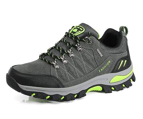 5084c50fa6e Hiking Boots Unisex Hiking Shoes Waterproof Walking Shoes Men ...