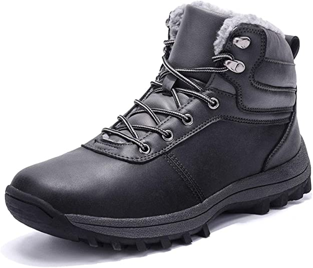 Image of Botas de Nieve Hombre Impermeable Botas de Invierno Antideslizante Calientes Botines Sneakers