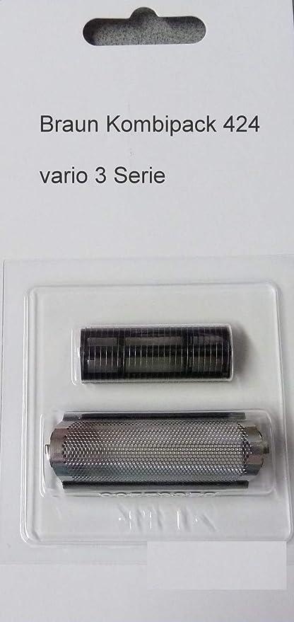 Braun - Cabezal de corte para Micron Vario3 3011 3020 3025: Amazon.es: Salud y cuidado personal