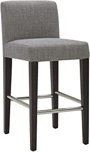 CHITA Counter Height Barstool, Upholstered Fabric Bar Stool, 26