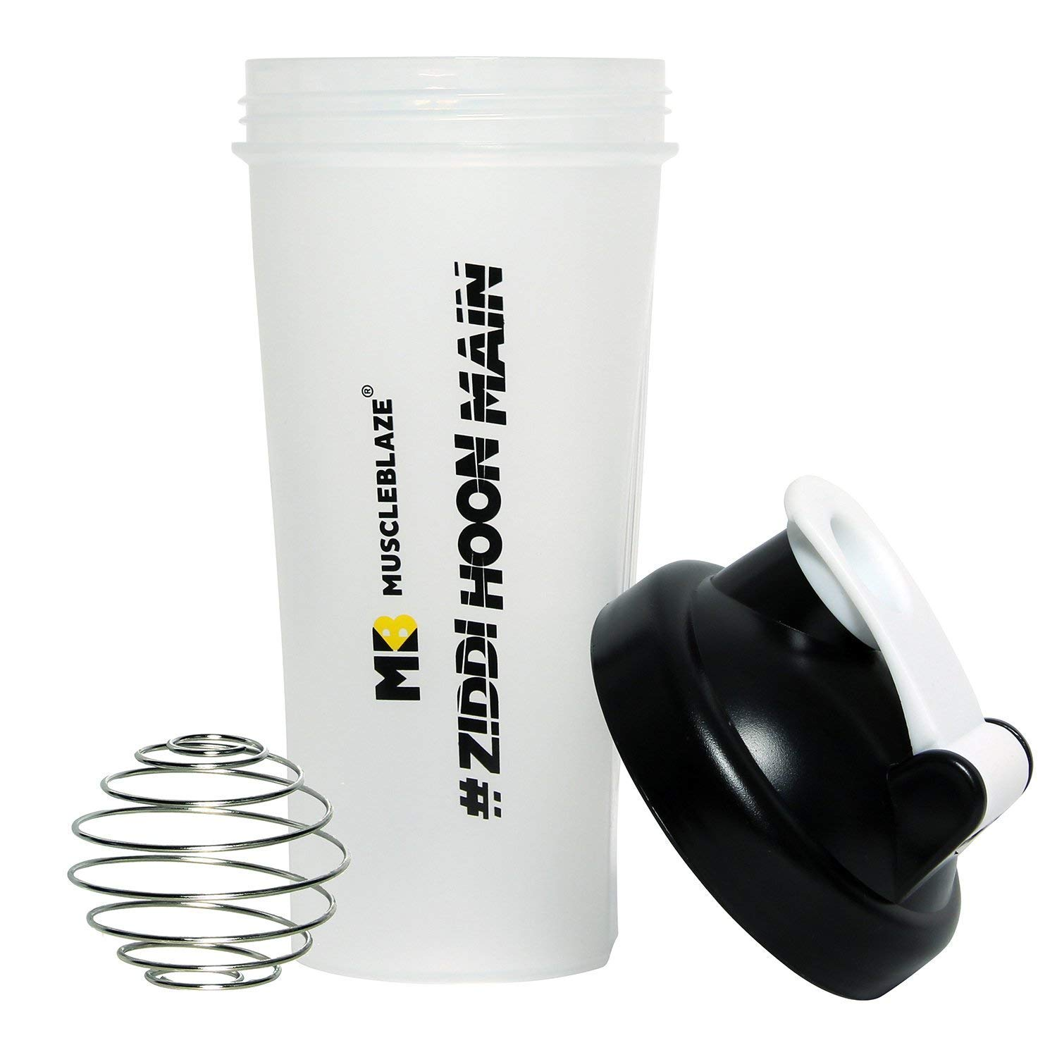 MuscleBlaze Protein Shaker 650 ml Color May Vary