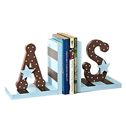 He Xiang Firm Shelves Drawers Bookends Bookshelf Desktop Childrens Letters Creative Book Block