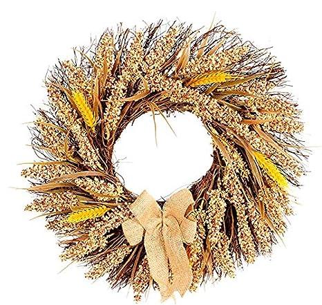 Amazon.com: QIANDONG1 Creativo cosecha Navidad trigo frutas ...