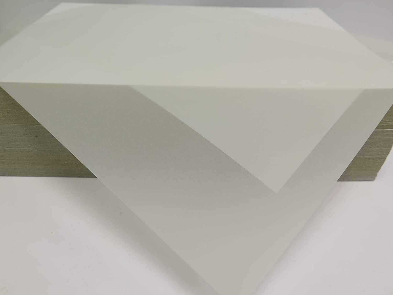 50 x A4 Vellum Translucent Heavyweight Tracing Paper 150gsm Jackdaw Express