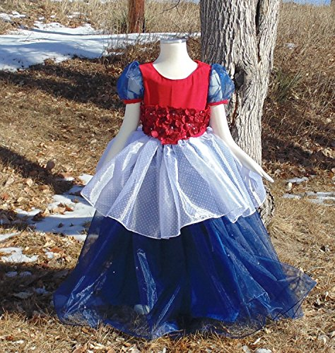 Girls 5T Patriotic Princess Pageant dress by Fru Fru and Feathers Costumes & Gifts
