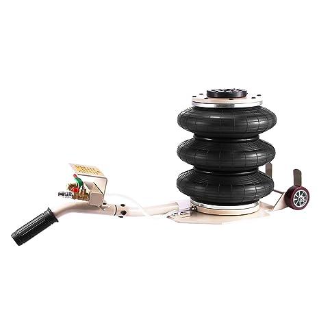 Bestauto - Gato de aire de doble bolsa, 2 toneladas, resistente, gato neumático