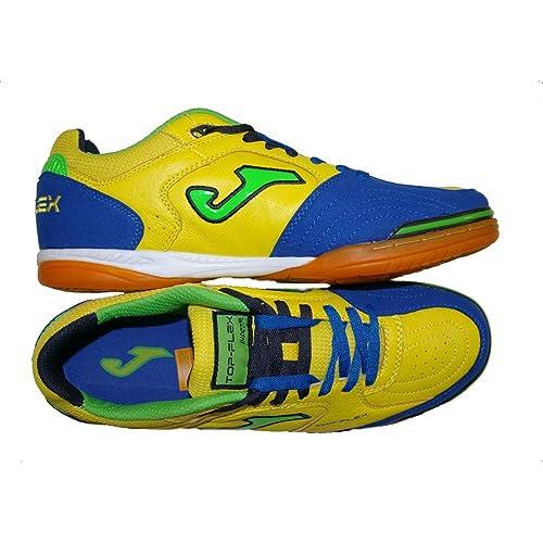 Joma - Zapatillas de fútbol Sala para Hombre, Amarillo/azul, 39 EU: Amazon.es: Zapatos y complementos