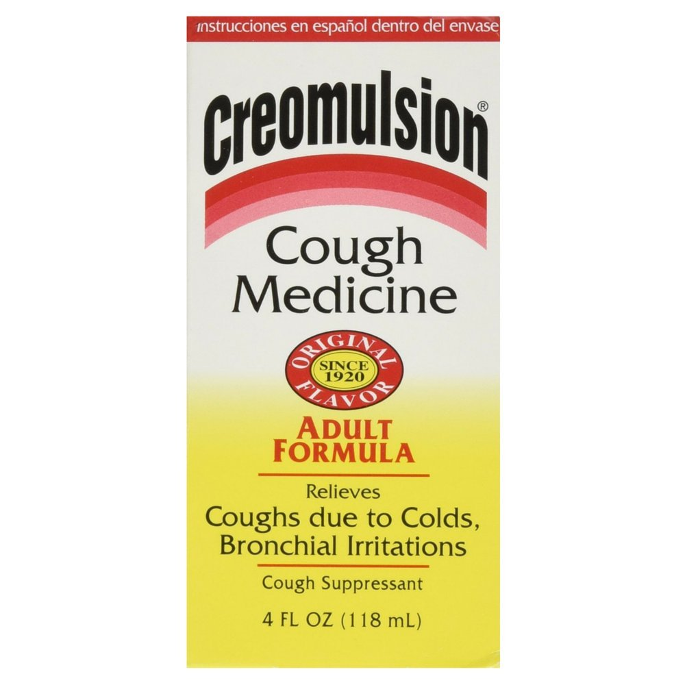 Creomulsion Adult Cough Medicine, 4 Ounce (Pack of 36)