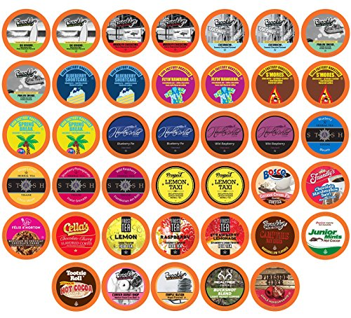 Frost Coffee (Two Rivers Summer Single Cups for Keurig K-Cup Brewers Sampler Pack, 40 Count)