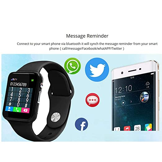 johlye U10 Kids Smartwatch Impermeable Bluetooth Anti ...