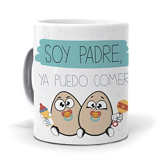 mundohuevo Taza Soy Padre, ya Puedo Comer Huevos