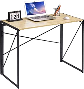 Coavas Folding Desk No Assembly Required, 40